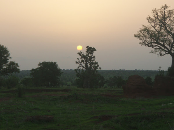 Sunset in Karaga