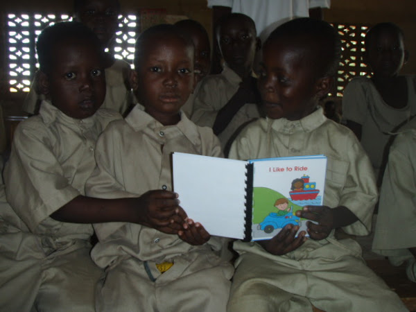 Some kids reading a story...too cute!