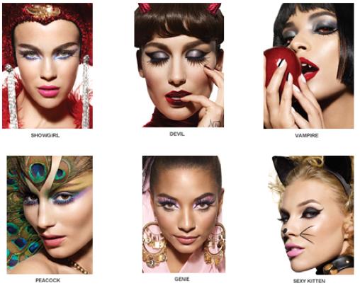 Lipgloss Break: Hot Halloween Makeup Looks with Sephora