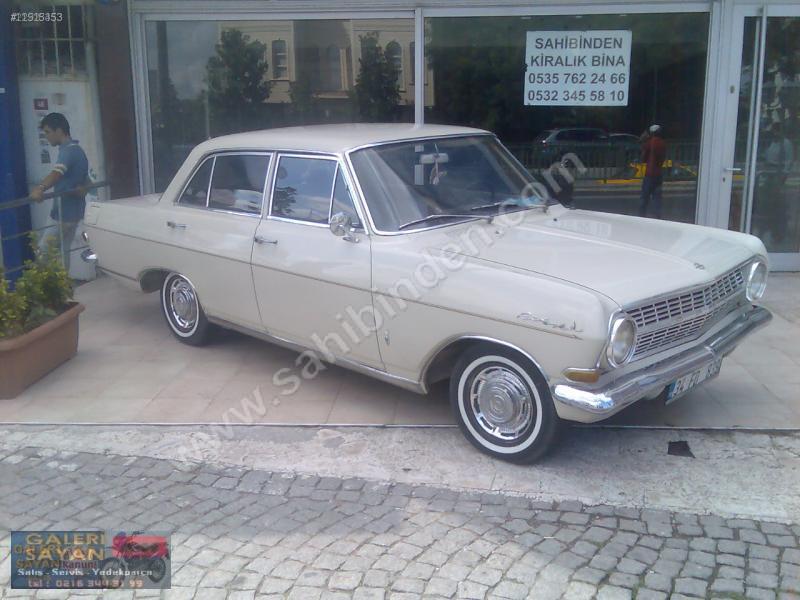 Opel Rekord A & B: For Sale: 1964 sedan from Turkey