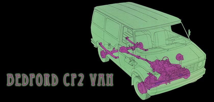 Bedford CF2 Van