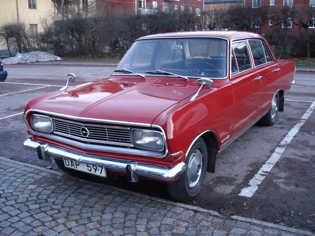 Opel Rekord A & B 1966 Rekord B  Norway