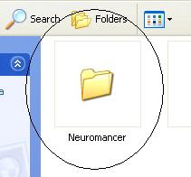 Neuromancer Windows folder