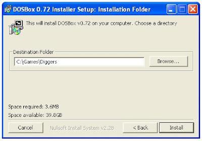 Dosbox installer
