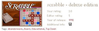 Scrabble search results
