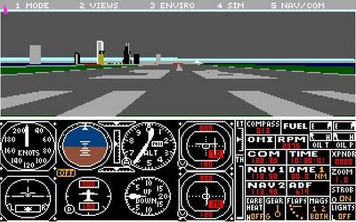 Microsoft Flight Sim 4 screenshot