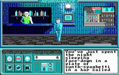 Neuromancer screenshot