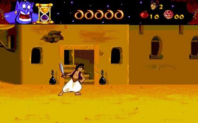 Aladdin PC game screenshot