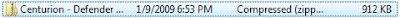 Windows Vista folder