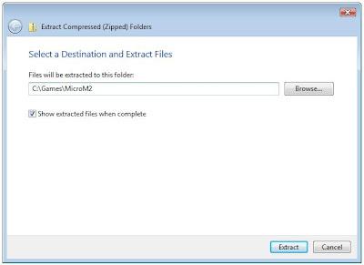 Zip extract program