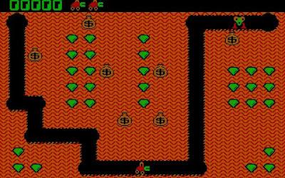 Digger PC game screenshot