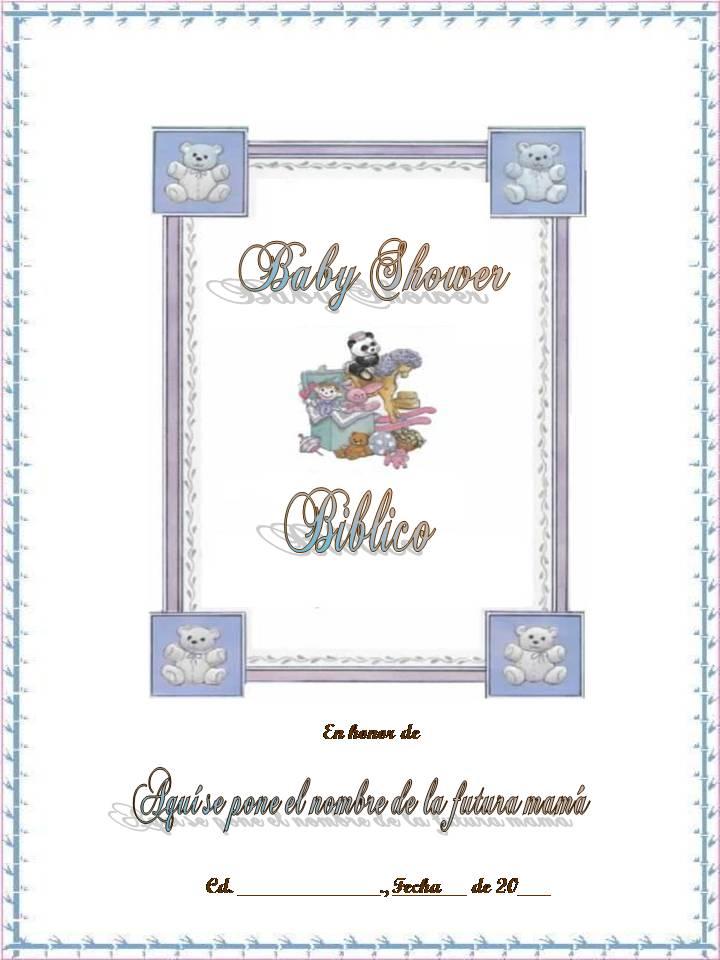 Mis tejidos y algo mas baby shower biblico baby shower biblico thecheapjerseys Image collections