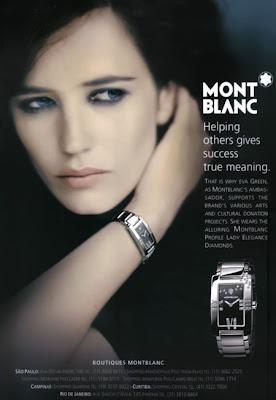 Eva Green - Montblanc Ad Campaign