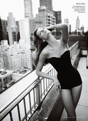 Жизель Будхен Vanity Fair Magazine май 2009