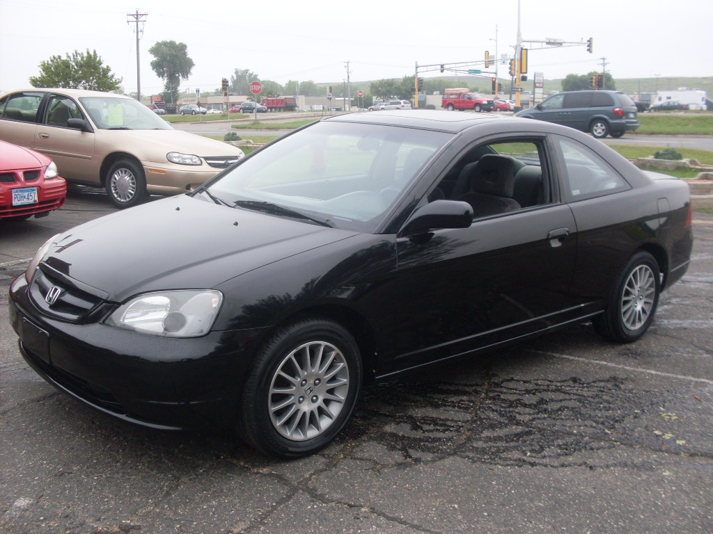 ride auto 2002 honda civic ex 2 door coupe 1 7 liter 4 cyl 5 speed manuel. Black Bedroom Furniture Sets. Home Design Ideas