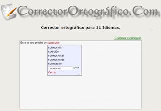 Corrector-ortográfico-online
