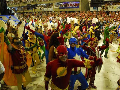 carnaval nerd heróis