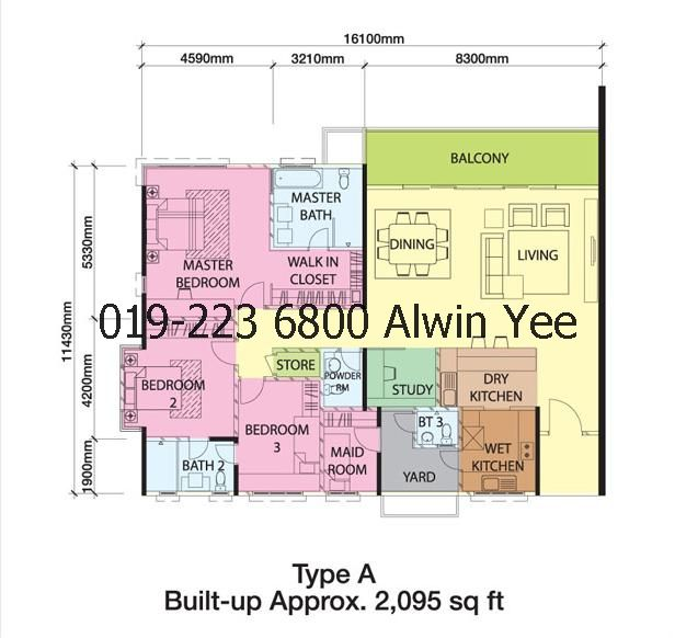 Bangsar South The Park Residences Acacia Floor Amp Layout