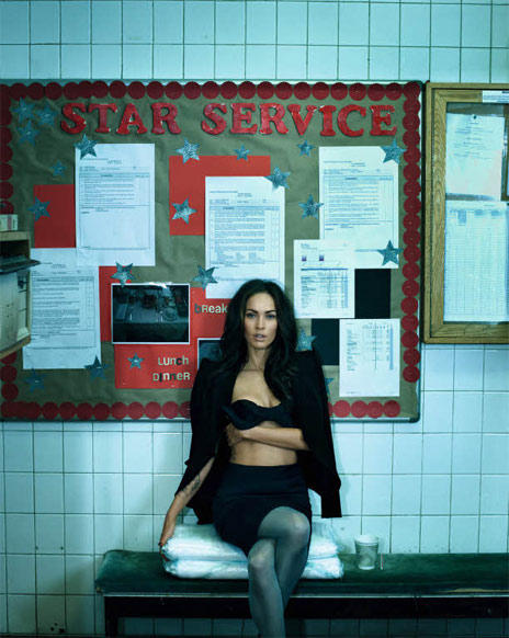 Megan Fox Graces Madame Figaro