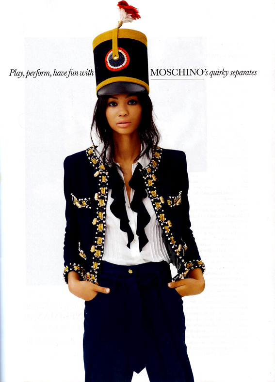 Burst in Style: Spring Looks By Chanel Iman For Elle UK