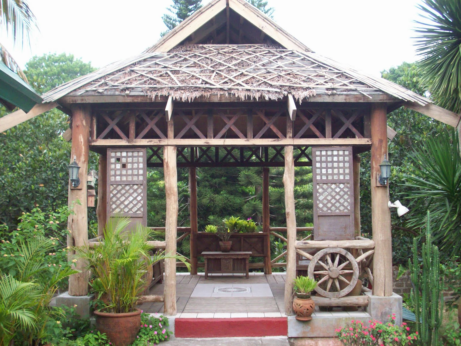 Bahay Kubo Front View