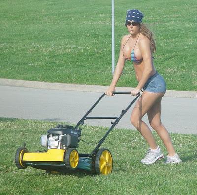 bikini lawn care