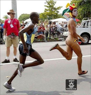 marathon streaker