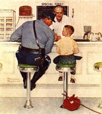 Norman Rockwell Cop