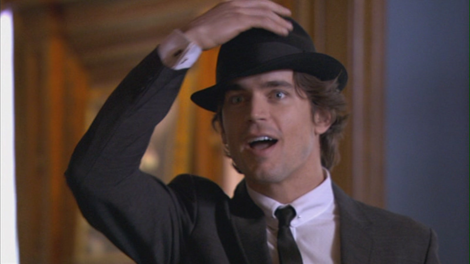 the gallery for gt matt bomer suit and hat