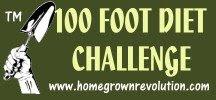 100 Foot Diet Challenge