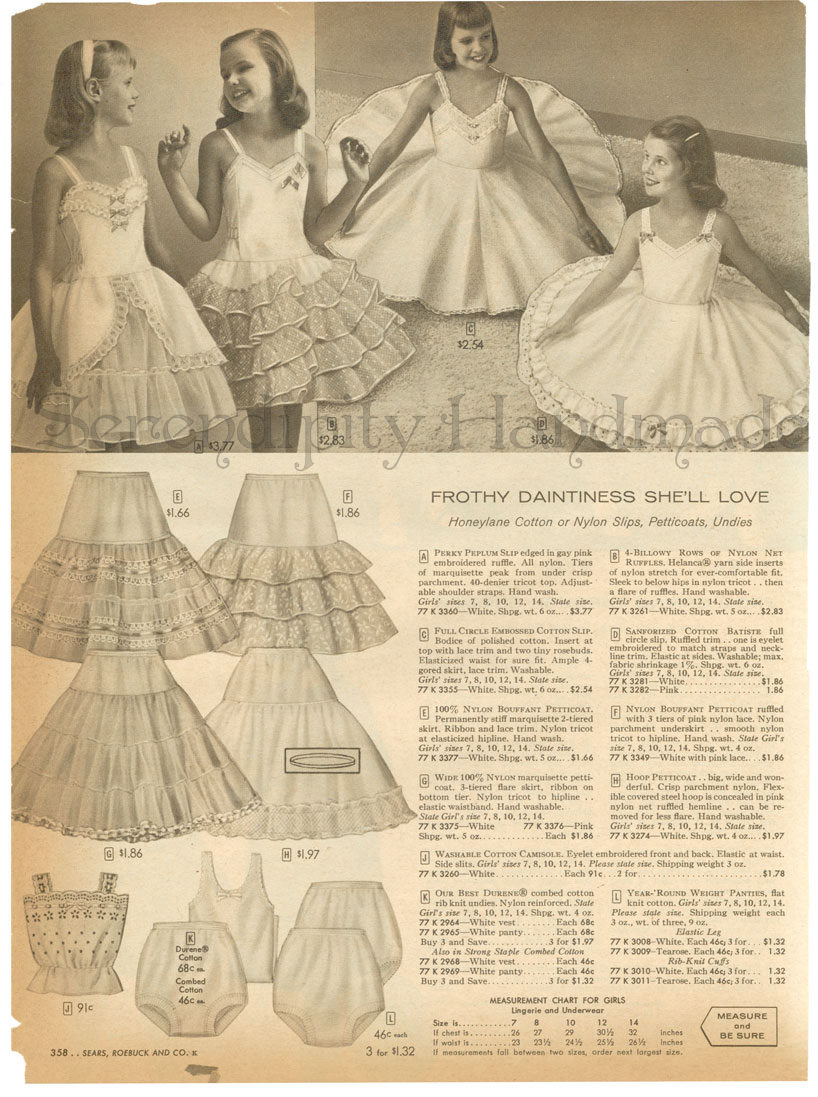 Catalog bra ads source pic2fly sears catalog girls underwear
