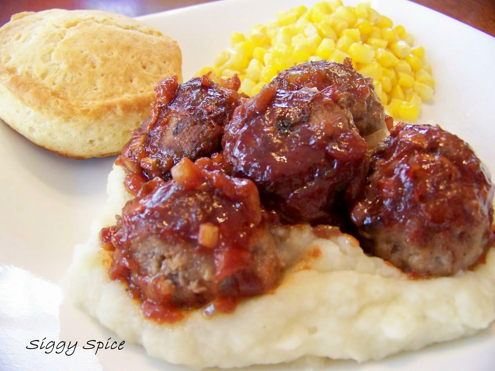 BBQ Meatballs Recipe — Dishmaps