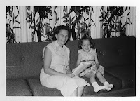 Mother and Me, circa 1955