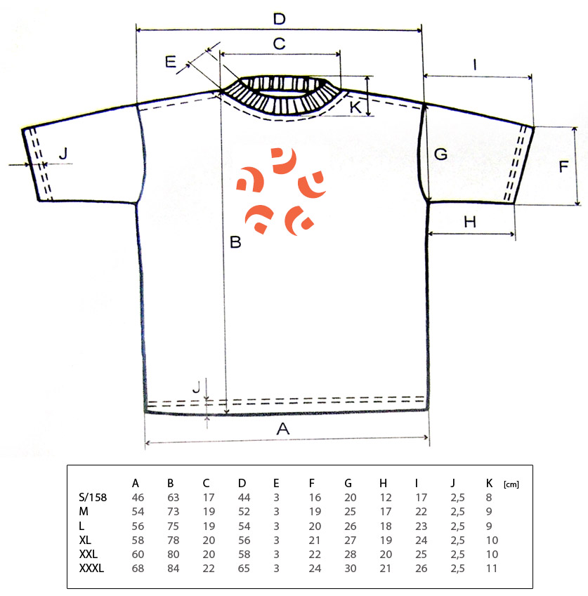 To ensure a great fit when ordering your t-shirt, be sure to consult the size charts above. Please note that the measurements listed are an average taken from several different tees, so the t .