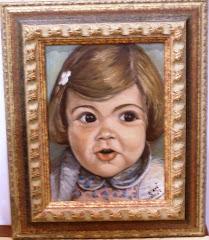 Retrato de Menina