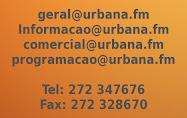 Contactos :: UrbanaFM