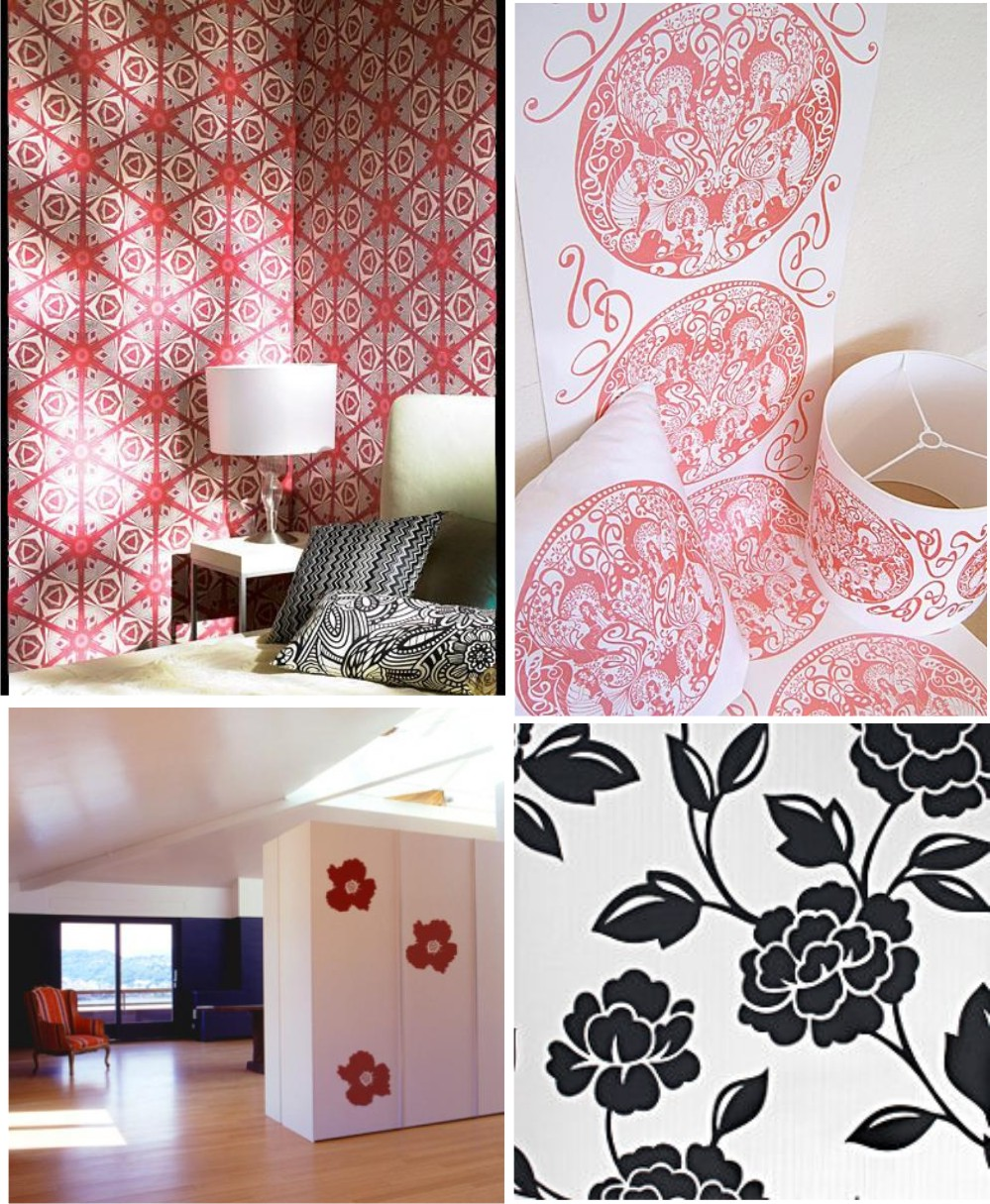 papel de parede decoracao de interiores:Decoracao Papel De Paredes