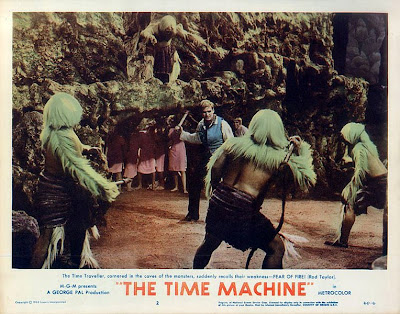 the time machine monsters