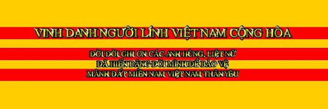 VINH DANH NGI LNH VNCH