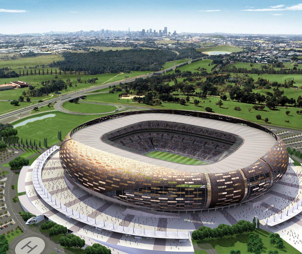 Johannesburg South Africa Soccer Stadium