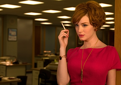 christina hendricks mad men. Christina Hendricks as