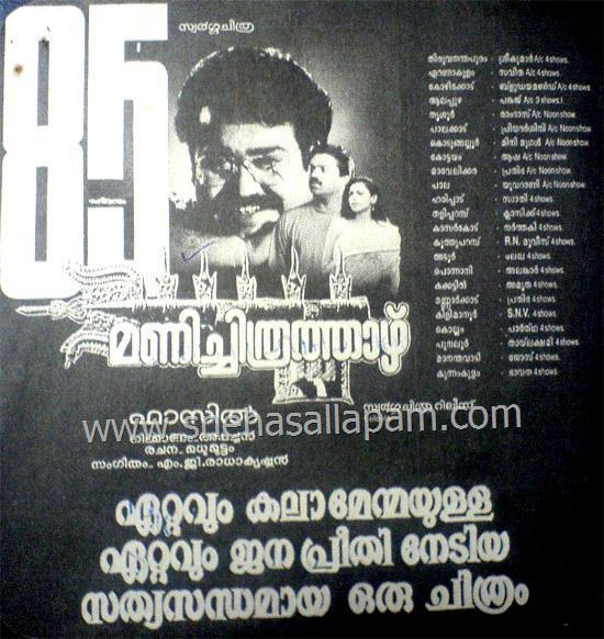 Manichitrathazhu Movie Poster