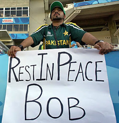 ... it looks like Pakistan\u0027s coach Bob Woolmer was murdered according to lots of reports I have read; I am inclined to believe those reports as well.