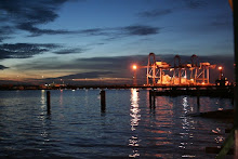 Sunset at Port Klang