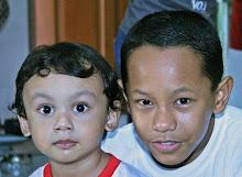 Haziq and Izul