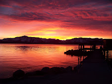 Tahoe Sunset this week-from Cherise-pretty heavenly