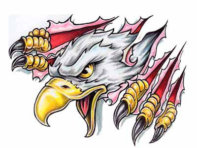 Eagle tattoo designs is actually one of the first tattooed on people before