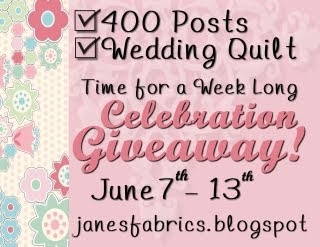 Jane's giveaway button