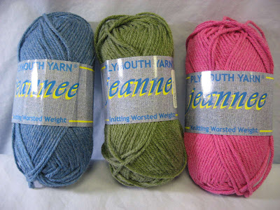 Plymouth Jeanne yarn
