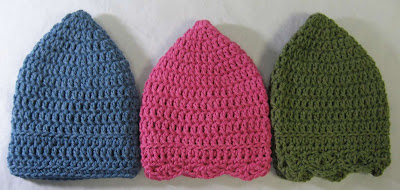 Chemo Hats for Patternworks Challenge